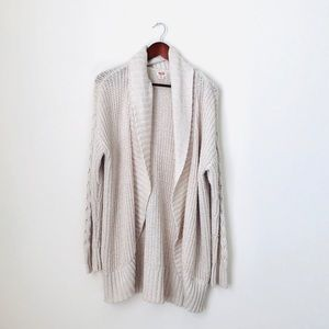 Chunky Knitted Cardigan